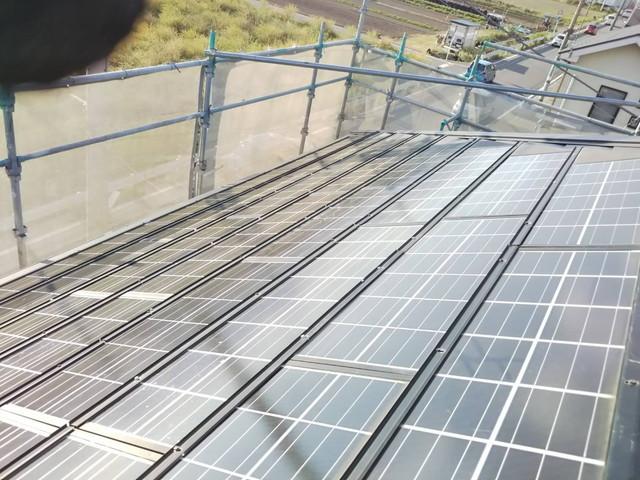 ソーラー設置4 20200901