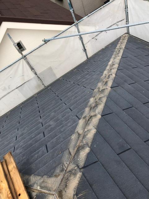 屋根 リフォーム 屋根カバー工法 貫板撤去