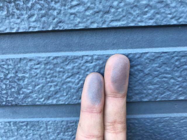 外壁 サイディング 劣化 チョーキング