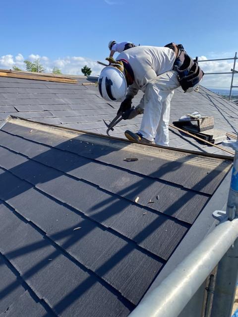 屋根剥がし20200924