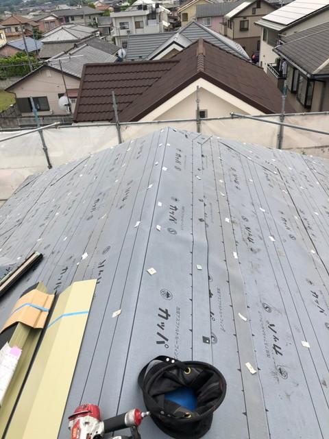 屋根 リフォーム 屋根カバー工法 ルーフィング