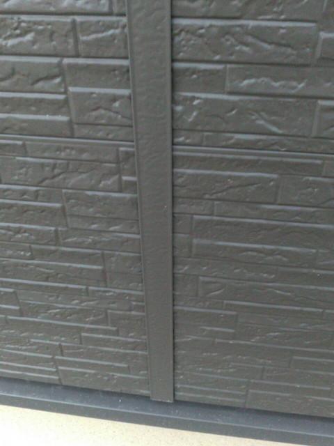 リフォーム 外壁張り替え ガルバリウム製サイディング 目地ジョイナー
