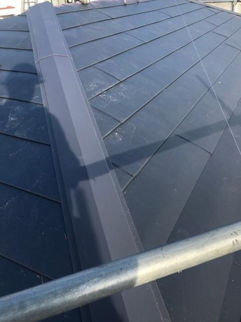 屋根 リフォーム 屋根カバー工法 完成