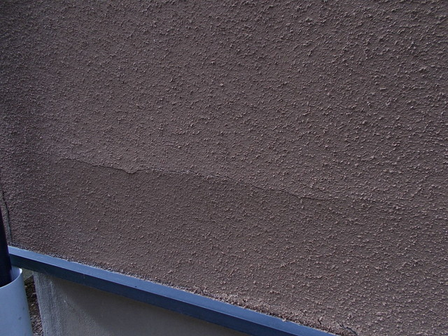 外壁リフォーム 現地調査 外壁劣化 吹き付け 浮き