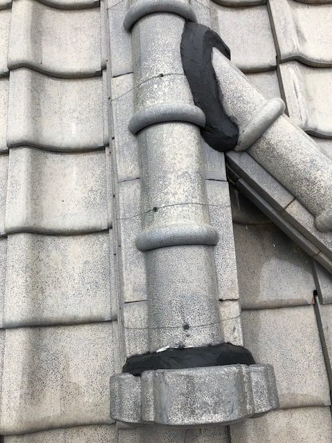 陶器瓦 棟 ズレ 隙間 補修