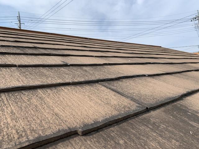 屋根リフォーム 現地調査 化粧スレート