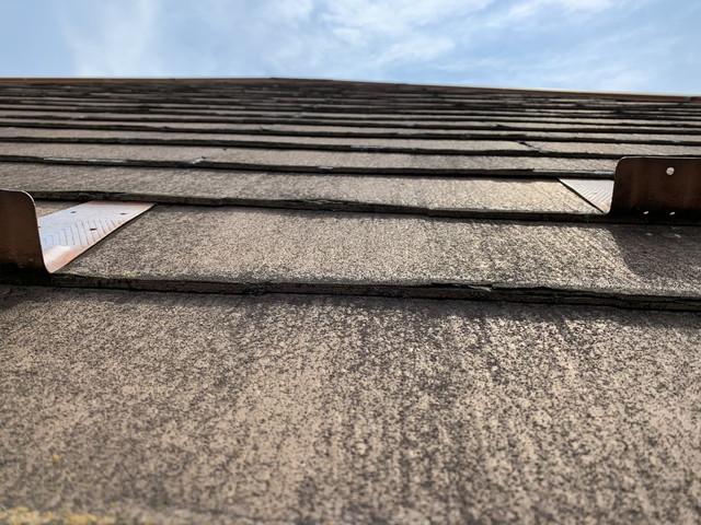 屋根リフォーム 現地調査 化粧スレート 劣化