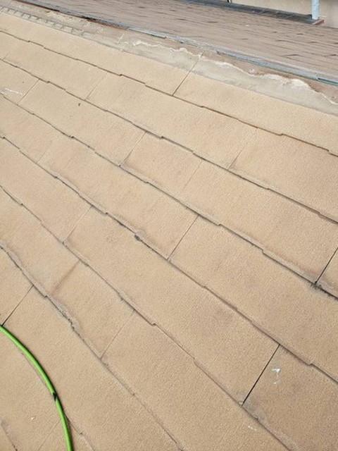 屋根 カバー工法工事 貫板撤去