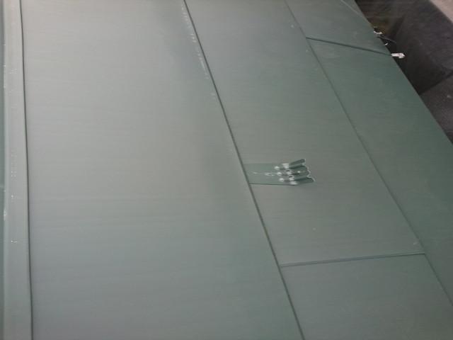 屋根 カバー工法 雪止め