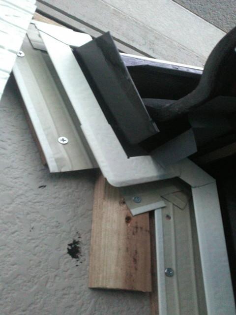 外壁カバー工法 見切縁