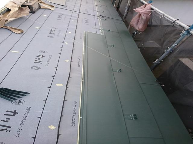 屋根 カバー工法 横暖ルーフS