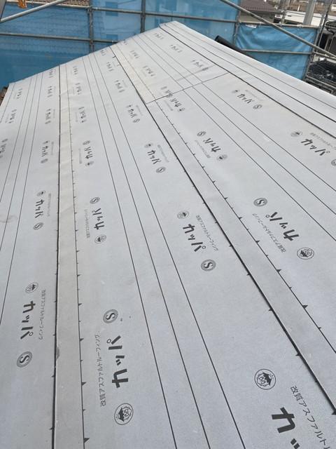 屋根葺き替え工事 ルーフィング