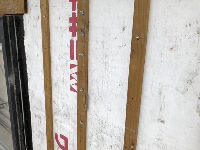 外壁張り替え 撤去後