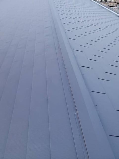 屋根カバー工法工事 完成