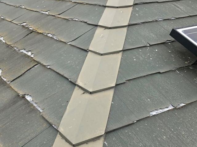 色褪せ屋根