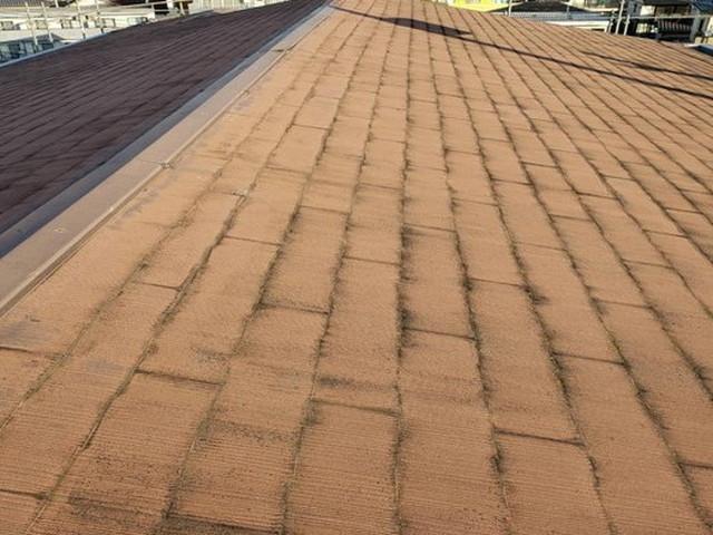 屋根カバー工法工事 化粧スレート 劣化