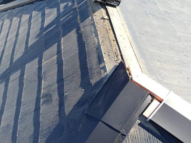 屋根のてっぺん工事