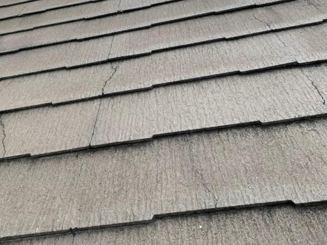 色褪せしている屋根