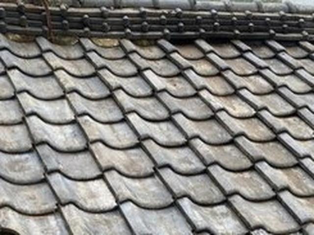 屋根 一部葺き戻し工事 完成