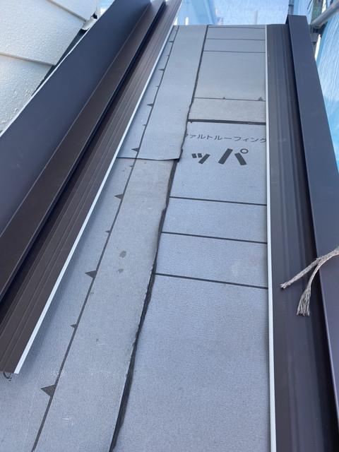 屋根葺き替え ルーフィング