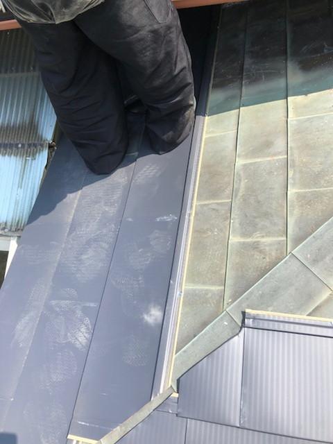 雨漏り工事 雨漏り修理 カバー工法